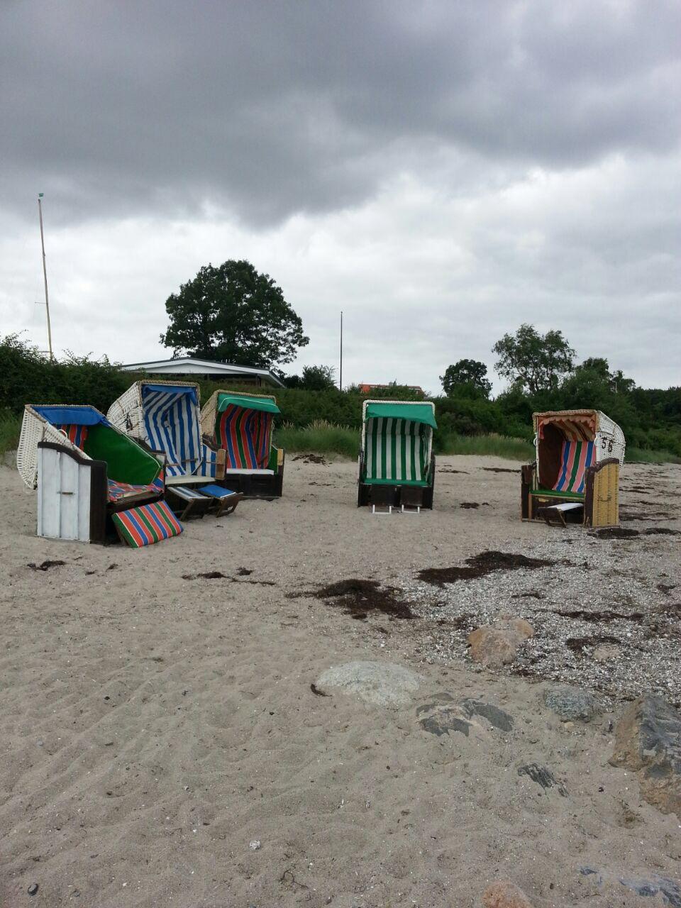 Strand bei Grömitz