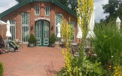 Das Palmenhauscafé bei Gut Sierhagen
